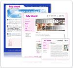 テンプレートホームページ
